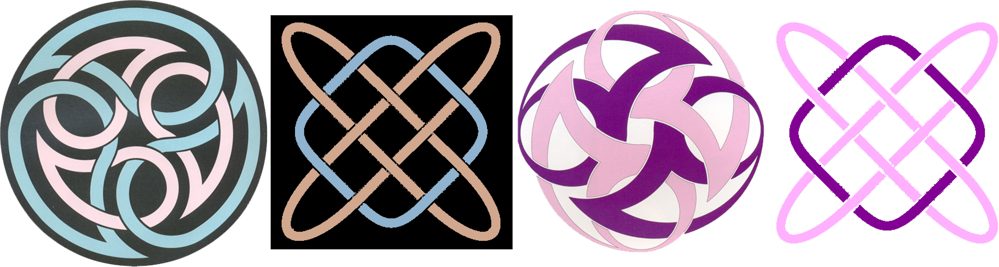 Principles Of Art Harmony : Celtic knots colorization based on color harmony principles